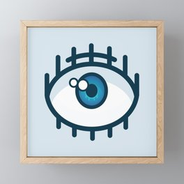 Eye Framed Mini Art Print