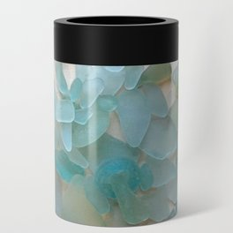 Ocean Hue Sea Glass Can Cooler