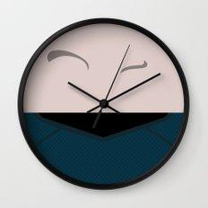 Spock - Minimalist Star Trek 2009 Reboot AOS Into Darkness - Trektangle - Trektangles Wall Clock