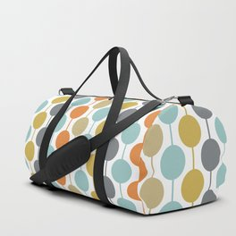 Retro Circles Mid Century Modern Background Sporttaschen