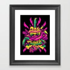 BEASTBURGER 2: ELECTRIC BURGERLOO Framed Art Print