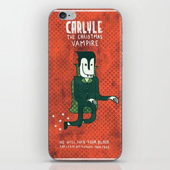 The Christmas Vampire iPhone & iPod Skin