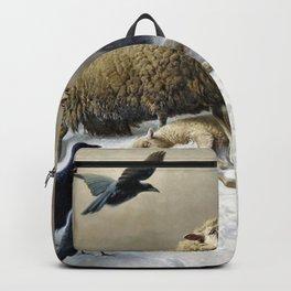 Anguish - August Friedrich Albrecht Schenck Backpack