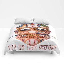 Dia De Los Astros Comforters