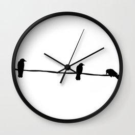 3 little birds Wall Clock