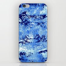 Mandala Meridia Blues iPhone & iPod Skin