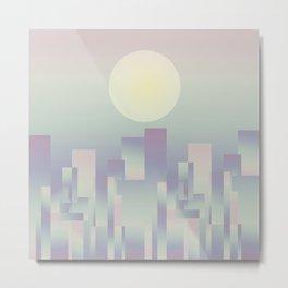 Opalescent dawning Metal Print