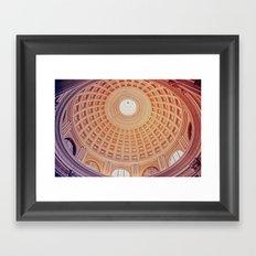 Dome full of colour Framed Art Print