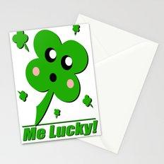 Lucky Clover Stationery Cards