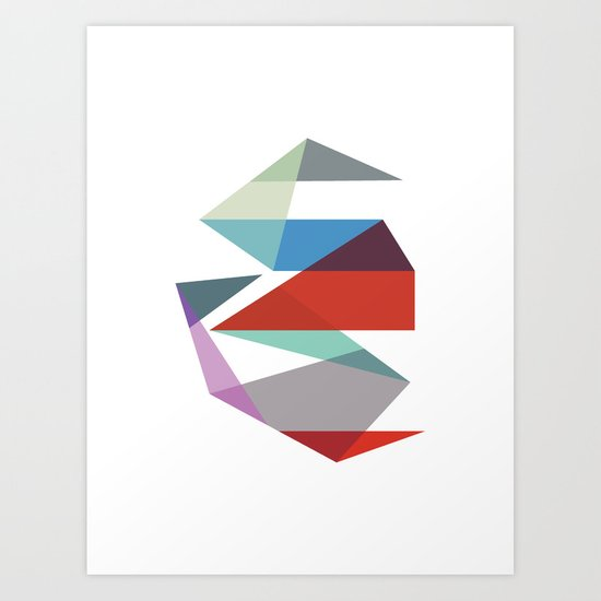 Shapes 015 Art Print