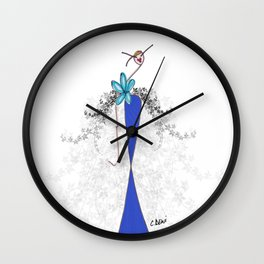 Mistinguette Wall Clock