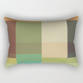 Retro Geometry Rectangular Pillow