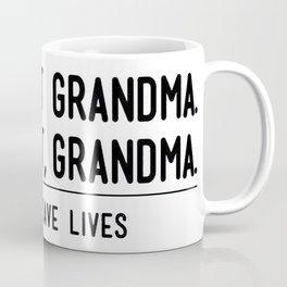 Let's Eat Grandma - Commas Save Lives Coffee Mug