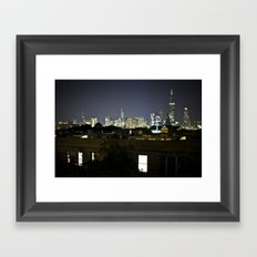 Chicago Ho Framed Art Print