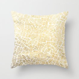 Inca Sun Throw Pillow