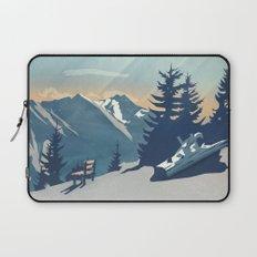 Mountain Sunrise (Pause II) Laptop Sleeve