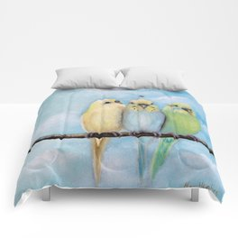 One Spring Day Comforters