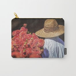 Picking the Flowers Carry-All Pouch