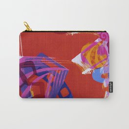 Graphic Carry-All Pouch