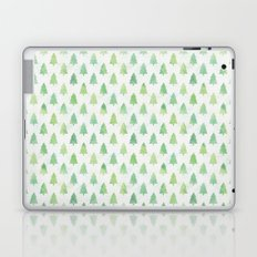 Simple Pine Tree Forest Pattern Laptop & iPad Skin
