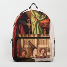 Presentation of Jesus at the Temple Backpack