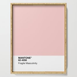 MANTONE® Fragile Masculinity Serving Tray