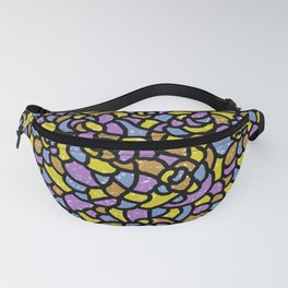 Mosaic Tiles Random Shaped Fanny Pack