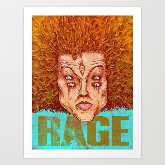 Carrot Top - ArtBattleLA Art Print