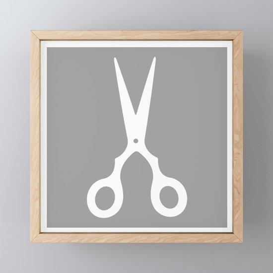 Grey Scissors by xooxoo