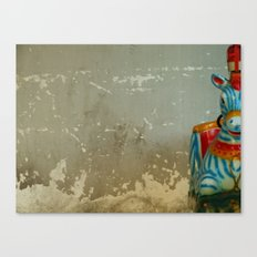 Boy, you're gonna carry that weight Canvas Print