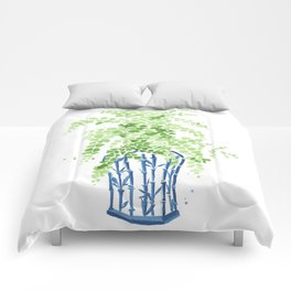 Ginger Jar + Maidenhair Fern Comforters