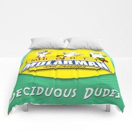 Deciduous Dudes Comforters