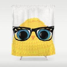 Nerd Chick Shower Curtain