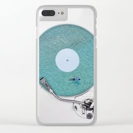 More weird vinyl experiences. Clear iPhone Case