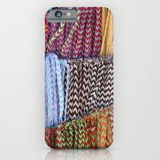 Color threads iPhone 6s Slim Case
