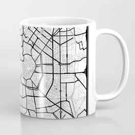 Milan Light City Map Coffee Mug