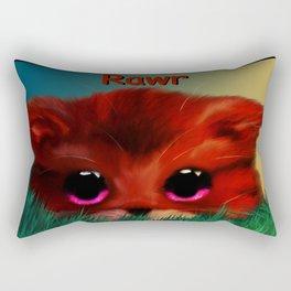 Rawr Rectangular Pillow