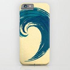 - blue 'davy jones' wave - Slim Case iPhone 6s