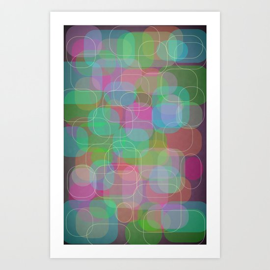 It's Hip to Be a Square Art Print