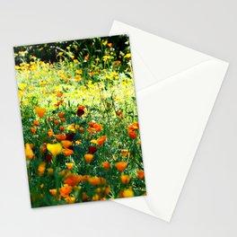 full of flower power Stationery Cards