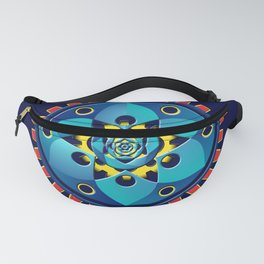 Abstract mechanical object Fanny Pack