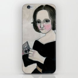 Mary Shelley and the Monster iPhone Skin