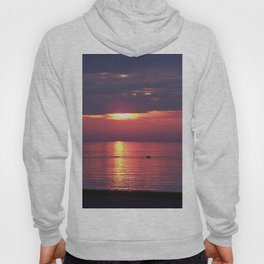 Holes in the Clouds, sunset on the water Hoody
