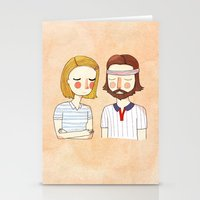 hipster Stationery Cards featuring Secretly In Love by Nan Lawson
