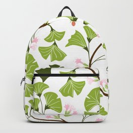 tree leaves #762 Backpack