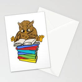 Are You An Owl Lover? A Perfect Owls Tee For You Made of Tools Owlet T-shirt Design Nocturnal Stationery Cards