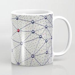 Cryptocurrency network Coffee Mug