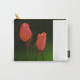 Autumn Rosebuds Carry-All Pouch