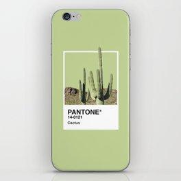 Pantone Series – Cactus iPhone Skin