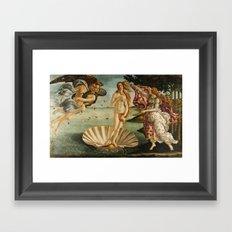 The Birth of Venus (Nascita di Venere) by Sandro Botticelli Framed Art Print